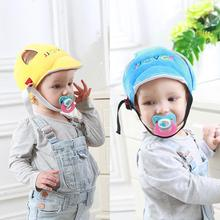 Children Cap baby helmet Anti-collision Safety Helmet Cotton Infant Protection Hats Protection Soft Hat fghgf adjustable outdoor reflective safety hat sun protection shade hat w lanyard workplace safety helmet
