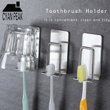 Racks Toothbrush-Holder Stainless-Steel Bathroom-Accessories Wall-Mount 304