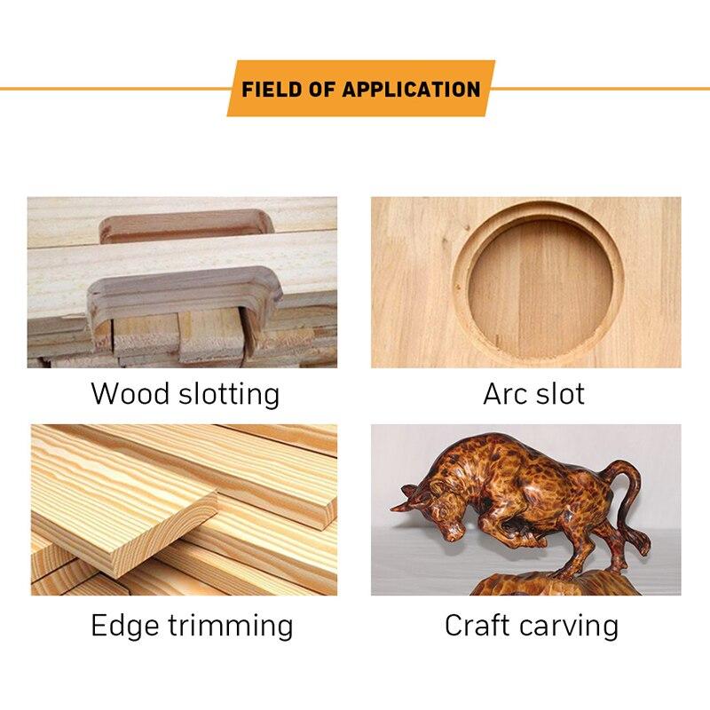 Machine à découper tondeuse électrique prise de bois 30000 tr/min bois routeur coupe en cuir travail du bois bricolage perceuse outils électriques - 3