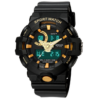 New Men Military Watch Waterproof Wristwatch LED Quartz Clock Sport Watch Male Relogios Masculino Sport S