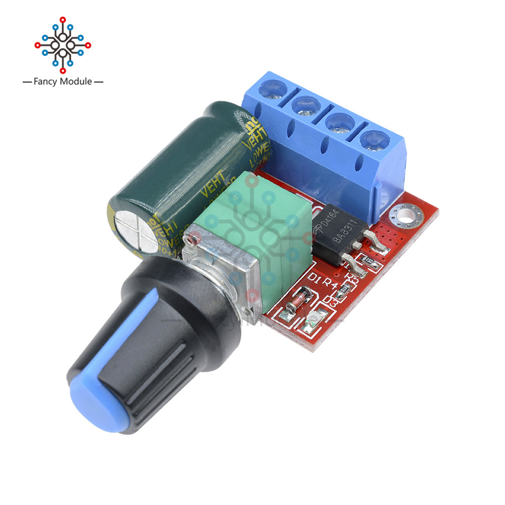 Mini Dc 45v 35v 5a 90w Pwm Motor Speed Controller Module Small Regulator Control Adjust Adjustable Board Switch 12v 24v In From Home