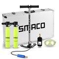 SMACO dos cilindros de oxígeno Mini equipo de buceo tanque total libertad de respiración bajo el agua durante 5 a 10 minutos