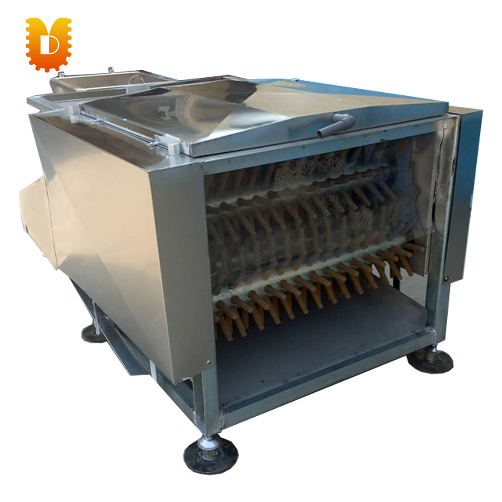 seven rollers chicken feather removing machine/duck feather removal machine/chicken plucking machine