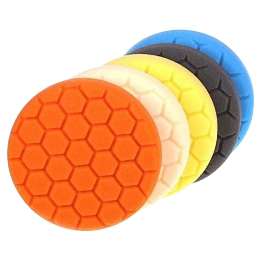 3pcs 3/4/5/6/7 Inch Buffing Sponge Polishing Pad Kit Set For Car Polisher Buffer For  Car Beauty Polishing Waxing Glaze
