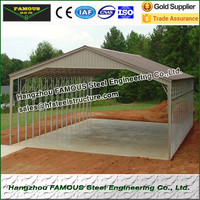 8x10 metal garden shed suitable for most construction site condition