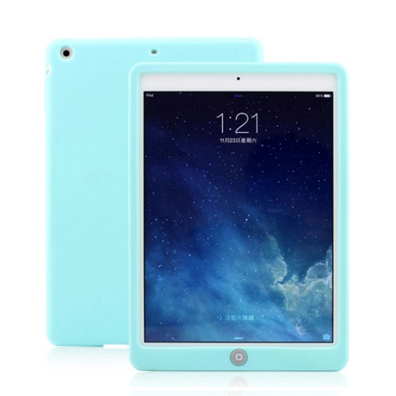 Cover Case for Apple iPad Mini 1 2 3 Silicone Back Cover Shockproof Protective Tablet Case for iPad Mini 1 2 3/Mini 4 7.9 Coque
