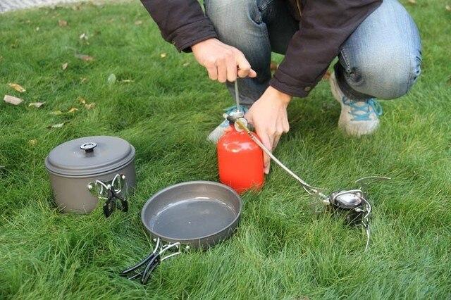 גזייה לטיגון ובישול למחנאות 3