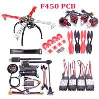 F450 S500 X500 500 Quadcopter рамки комплект APM2.6 игровые джойстики M8N gps мощность модуль мини OSD 1045 920kv двигатель 2212 пропеллеры