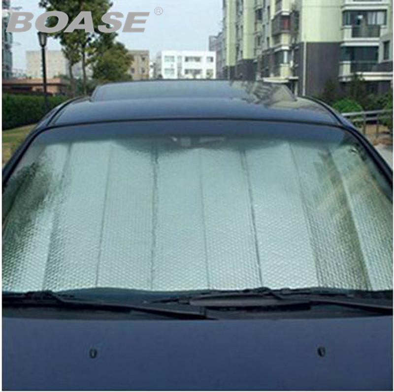 1pcs Car Covers Windscreen Cover Heat Sun Shade Anti Snow Frost Ice Shield Dust UV Protector Winter Car-styling