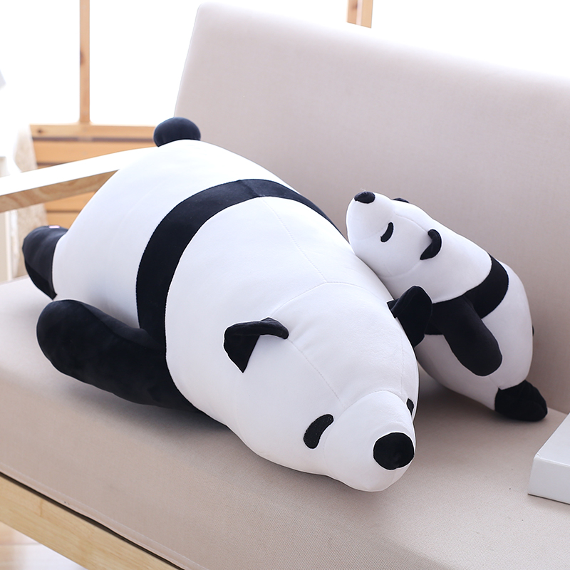 40cm super cute plush toy panda doll pets panda panda pillow feather cotton as a gift to the children and friends 110cm cute panda plush toy panda doll big size pillow birthday gift high quality