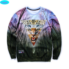 12-18years big kids brand sweatshirt boys youth fashion 3D Fantastic Forest printed hoodies girls jogger sportwear teens W23