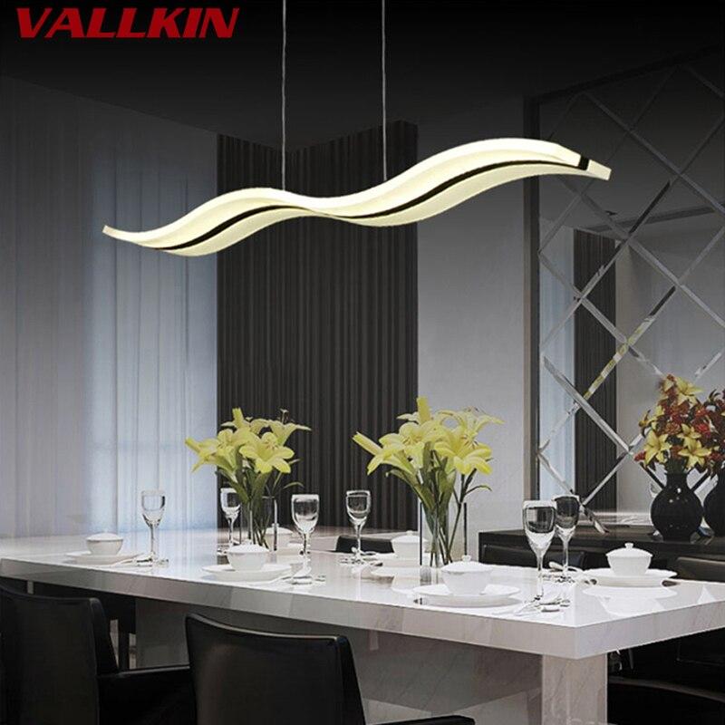 Moderno Lámparas Colgantes Cocina Comedor Lámparas LED Luz Colgante Lámpara  Colgante De Acrílico Interior Lámparas Luminarias