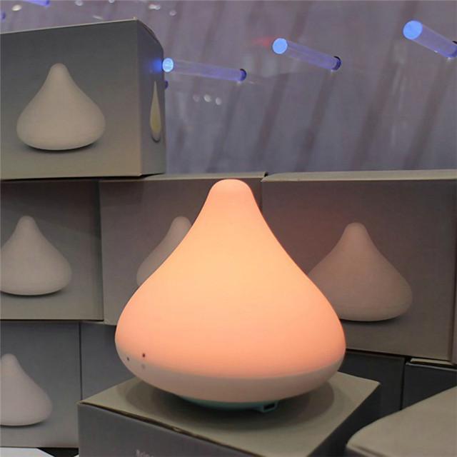 Chocolate à prova d' água LED de Luz Ambiente 2016 Nova Carga Sem Fio ABS Luz Da Noite do Sensor de Toque Lâmpada Novidade Gadget de Casa Decorativo