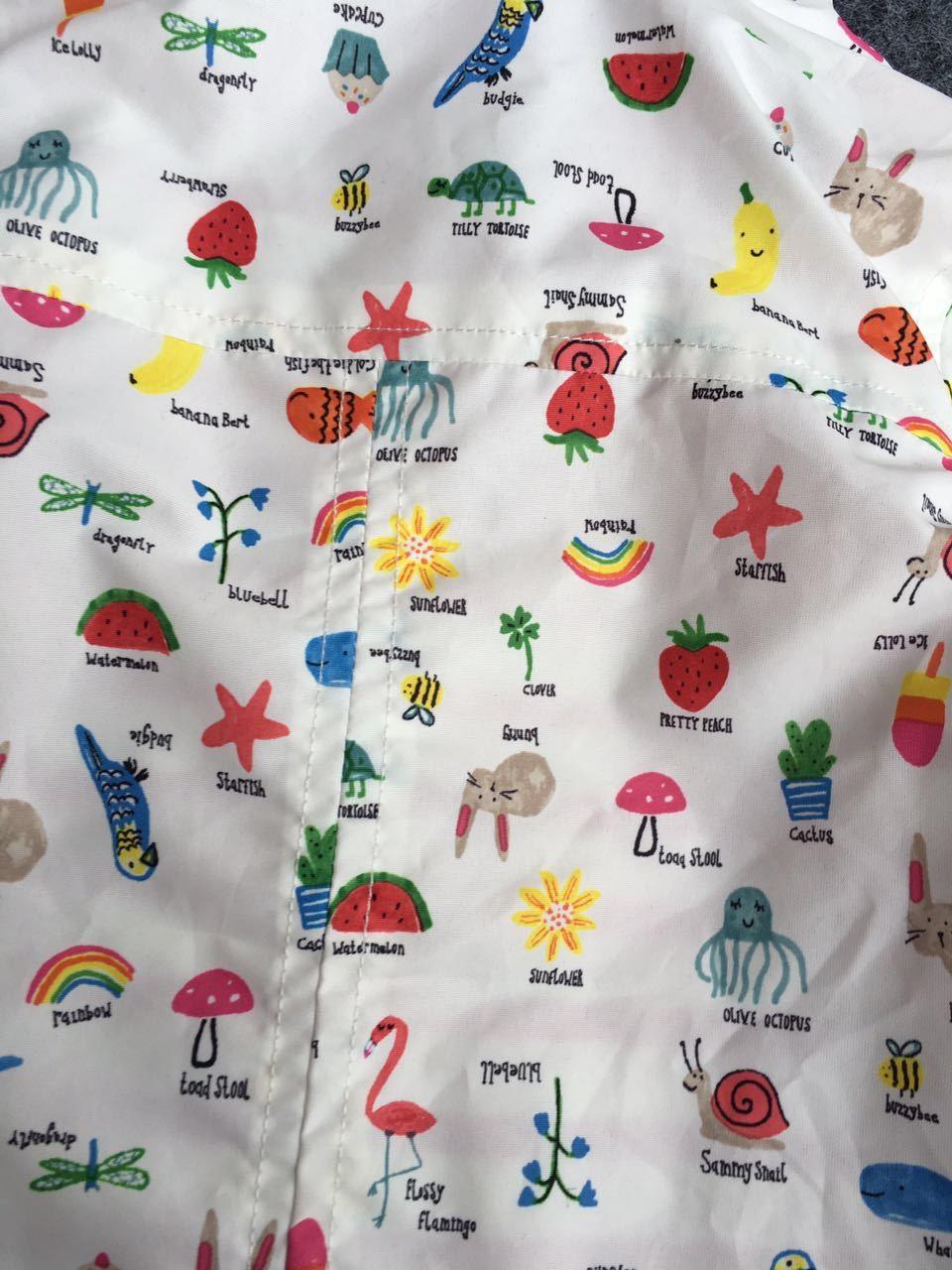 Kids Cartoon Fruit Print Jackets (6)