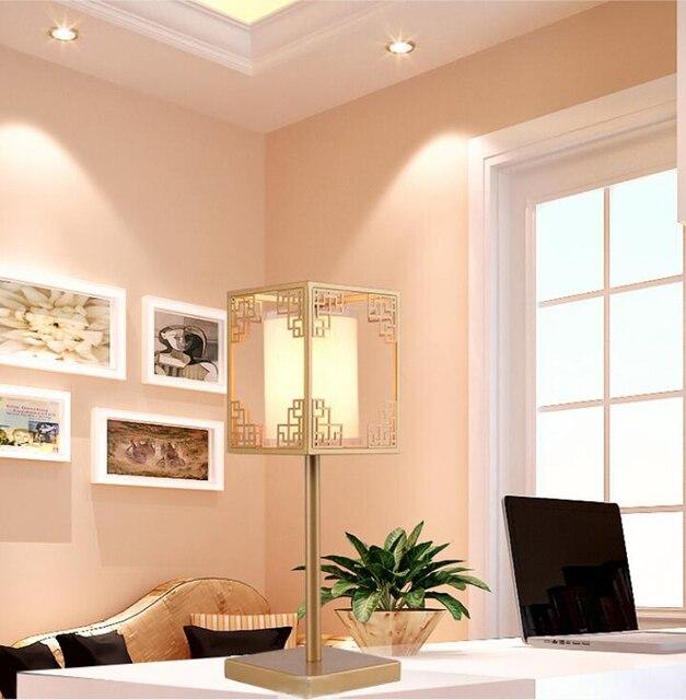 Nieuwe Chinese bureaulamp vintage hotel woonkamer ijzer art ...