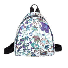 da5bebbb21ad Vintage Embroidery Ethnic Canvas Backpack Women Flower Travel Bags Schoolbag  Small Girl s Backpacks Rucksack Mochila(