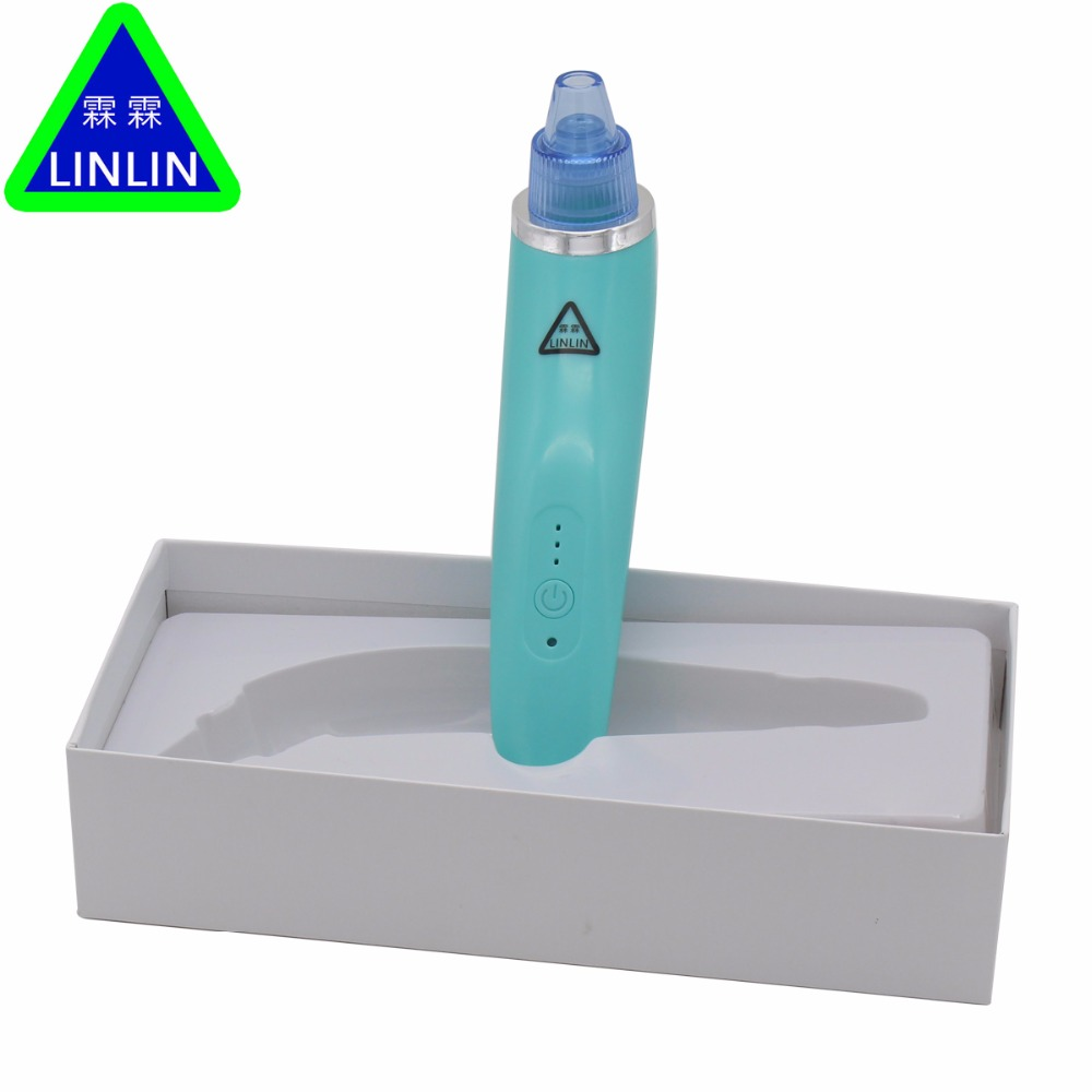 LINLIN Vacuum Blackhead Removal Comedo Suction Beauty Machine Face And Nose Acne Device Skin Microdermabrasion Peel