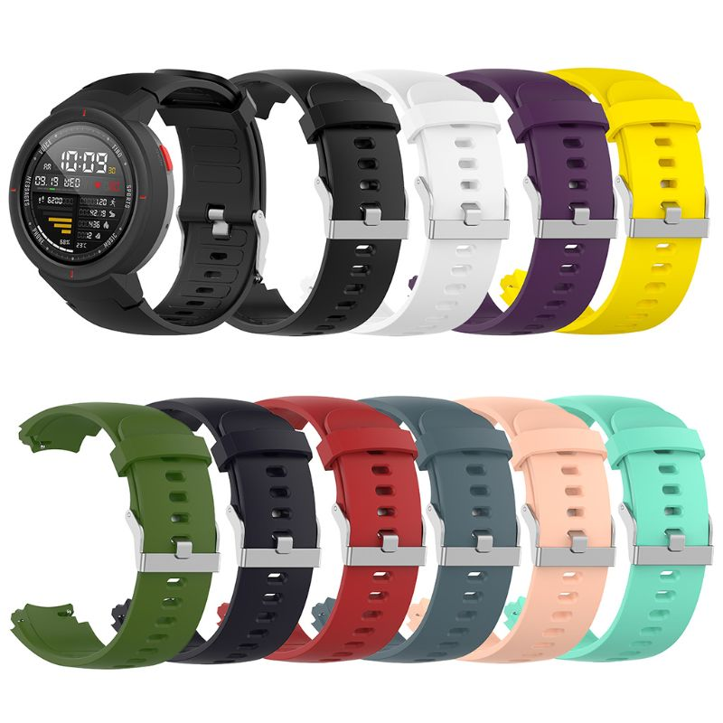 Wrist Band Strap Watchband TPU Adjustable Bracelet Sports Replacement for Huami Amazfit Verge in Smart Accessories from Consumer Electronics