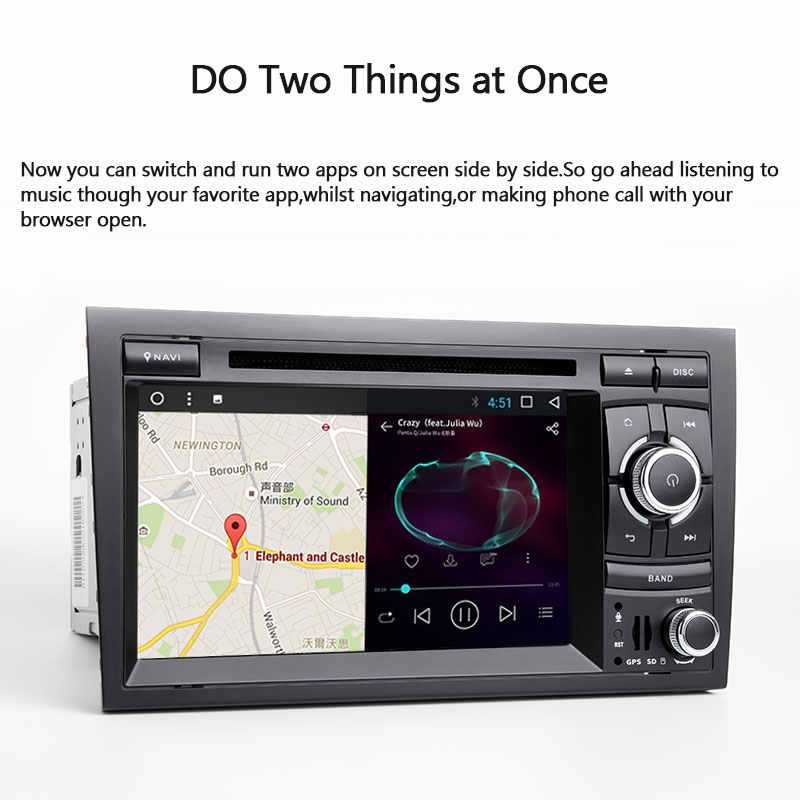 Josimle 2 喧騒 Autoradio カー Dvd マルチメディアプレーヤーアウディ A4 B6 B7 シート Exeo S4 B7 B6 RS4 B7 2000-2012 Gps ナビゲーションステレオ