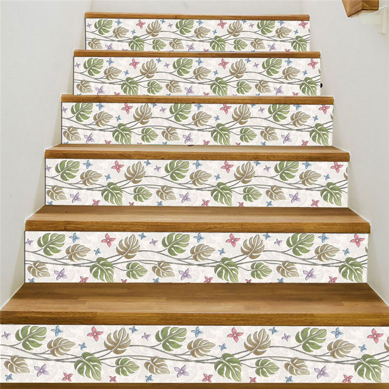 Image 5 - 3D Simulation Stair Stickers Waterproof Wall Stickers DIY Home Decor Room Decoration vinilos decorativos para paredes New-in Wall Stickers from Home & Garden