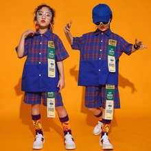 Boys Jazz Dance Costumes Girls Children Hip Hop Costumes Kids HIP HOP Clothing D