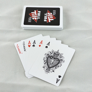 New PVC plastic playing CARDS