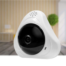 HD Wi-Fi Panoramic IP Camera 360 Degree VR Fisheye Network CCTV Camera
