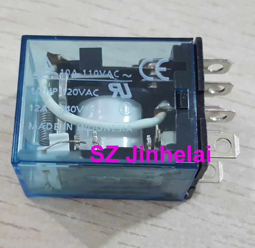 OMRON LY2N J 48VDC Authentic original 8Pin Relay LY2NJ DC48V  10A-in Relays from Home Improvement    2