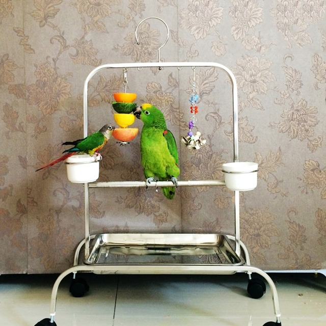 Wholesale Bird Toys : Wholesale birds foraging toys parrot stainless steel food