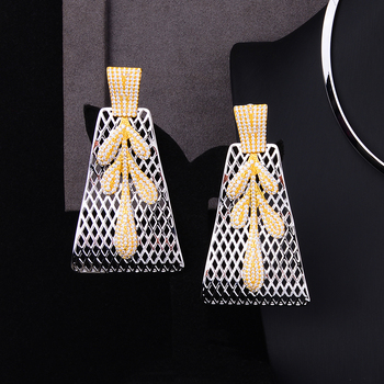 4PCS Big Pendant  Jewelry Set  1