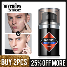 US $8.75 52% OFF|JOYCODES Men Foundation Cream for Face Concealer Base Creme Makeup Face Natural Color Moisturizing BB Cream Whitening Creams-in Facial Self Tanners & Bronzers from Beauty & Health on Aliexpress.com | Alibaba Group