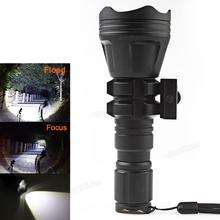 Brinyte B158 Convex Lens Zoom Flashlight XM-L2 U4 Led Torch Hunting Light 900 Lumens Aluminum Tactical Flashlight