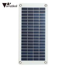 Portable Solar Panel Solar Generator Emergency Power Supply Outdoor Solar Charging Battery 10W 18V with Cigarette Lighter Clip