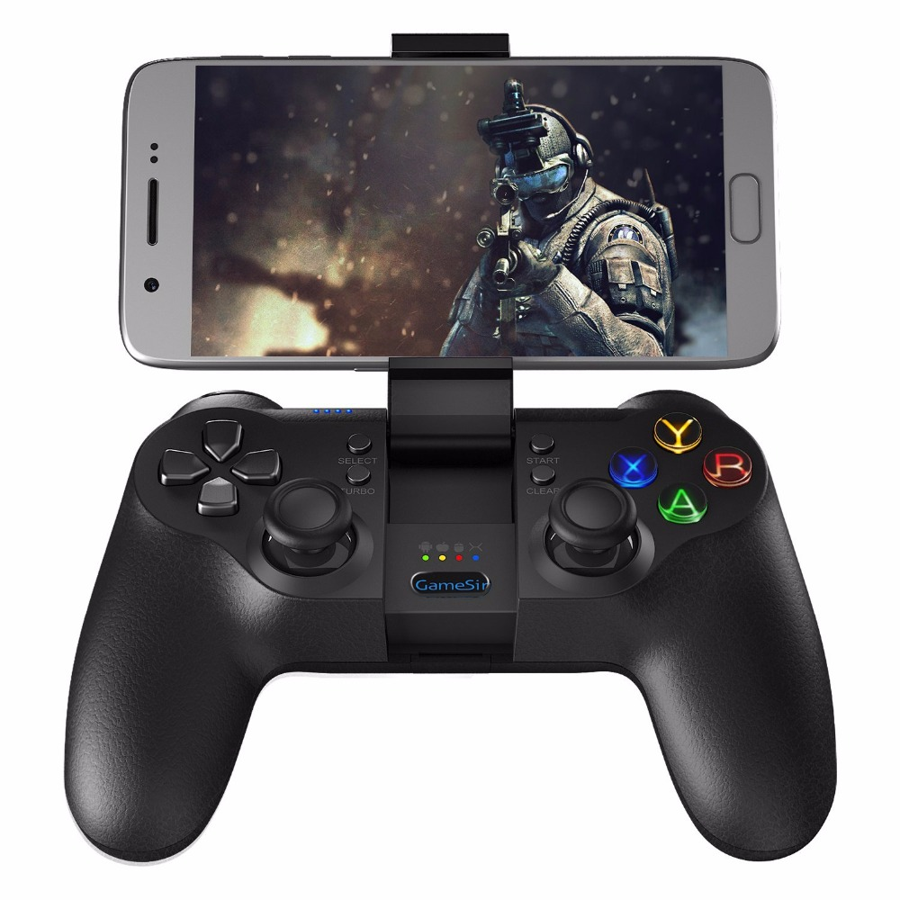 GameSir T1s Bluetooth Contrôleur de Jeu Sans Fil Gamepad pour Android Smartphone Tablet/PC Windows/Vapeur/Samsung VR/TV Box