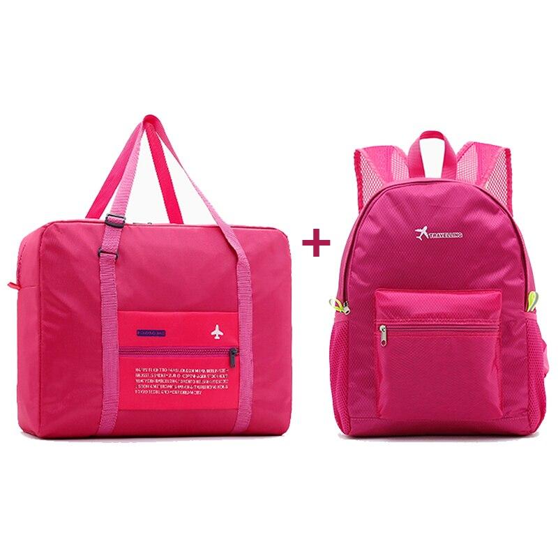 2018 Fashion Women Travel Bags WaterProof Nylon Folding Bag Large Capacity Bag luggage Bags Portable Men Handbags wholesale цена в Москве и Питере