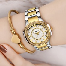 Dropshipping New 2018 Hot Selling Wrist Watches For Women Stainless Steel Gold Female Watch Diamond Wristwatch Patek Wrist Watch