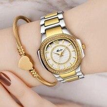 Dropshipping Neue 2020 Heißer Verkauf Handgelenk Uhren Für Frauen Edelstahl Gold Weiblichen Uhr Diamant Armbanduhr Patek Handgelenk Uhr