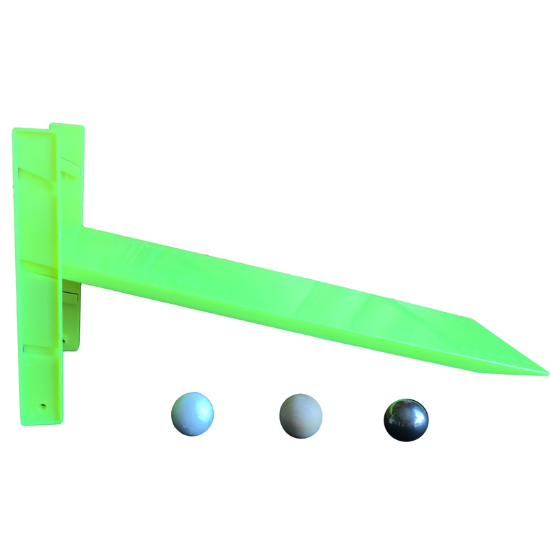 Three Different Balls Slope Experiment Toy Children Science Teaching Aid Free Fall Test Kids Stem Physics Early Educational Toys