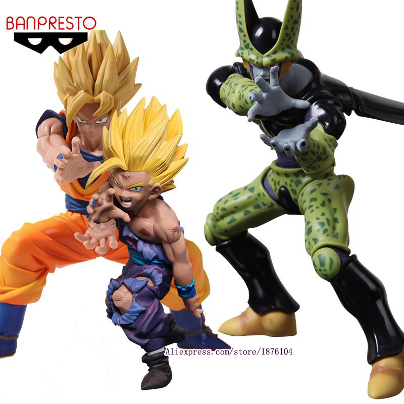 Anime dragon ball z super saiyan son gohan cell pvc - Son gohan super saiyan 4 ...