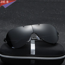 Men's Sunglasses New 2017 Polarized Male Sun Glasses Top Quality Foldable Temple Sunglass For Men Brand Designer