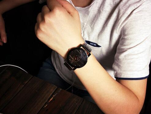 Stainless Steel Watch 5