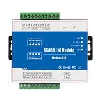 M120 Modbus Remoto IO Módulo Módulo de Aquisição de Dados (4DI + 4DO + 4AI + 2AO) Embutido Watchdog 4 Saída de relé|Kits de controle de acesso| |  -