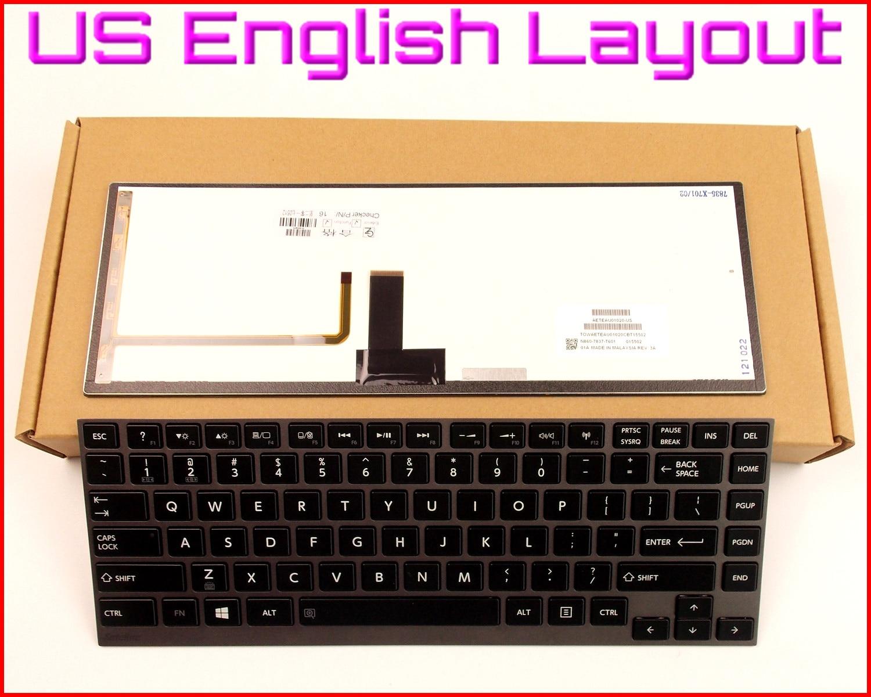 New US Layout Laptop Keyboard Replacement for Toshiba Satellite C55-B5265 C55-B5270 C55-B5272 C55-B5287 Black Notebook