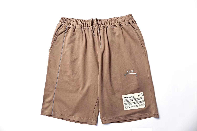 A-Cold-Wall Acw Shorts Men Sweatpants Kanye West A-Cold-Wall Acw Shorts Casual Cotton Streetwear A-Cold-Wall Acw Beach Shorts