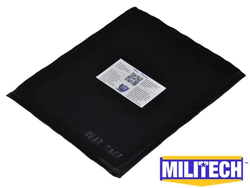 ФОТО Bulletproof Aramid Ballistic Panel Bullet Proof Plate Inserts Body Armor Backpack Briefcase Armour NIJ Level IIIA 3A 8'' x 10''