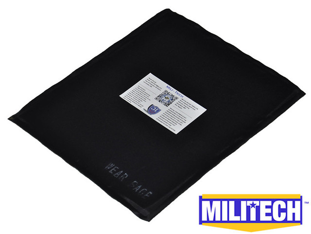 Aliexpress com : Buy MILITECH 8'' x 10'' Aramid Ballistic Panel Bullet  Proof Plate Inserts Body Armor Backpack Briefcase Armour NIJ Level IIIA 3A  from