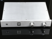Nova Terminado C17 Pura Classe Um Amplificador Totalmente Simétrica HiFi Pré-amp Prata