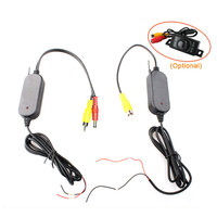 2 4 G Wireless RCA Video Transmitter Receiver Car Rear View System For Car Backup Reverse