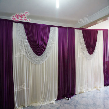 purple silk drapes - Silk Drapes