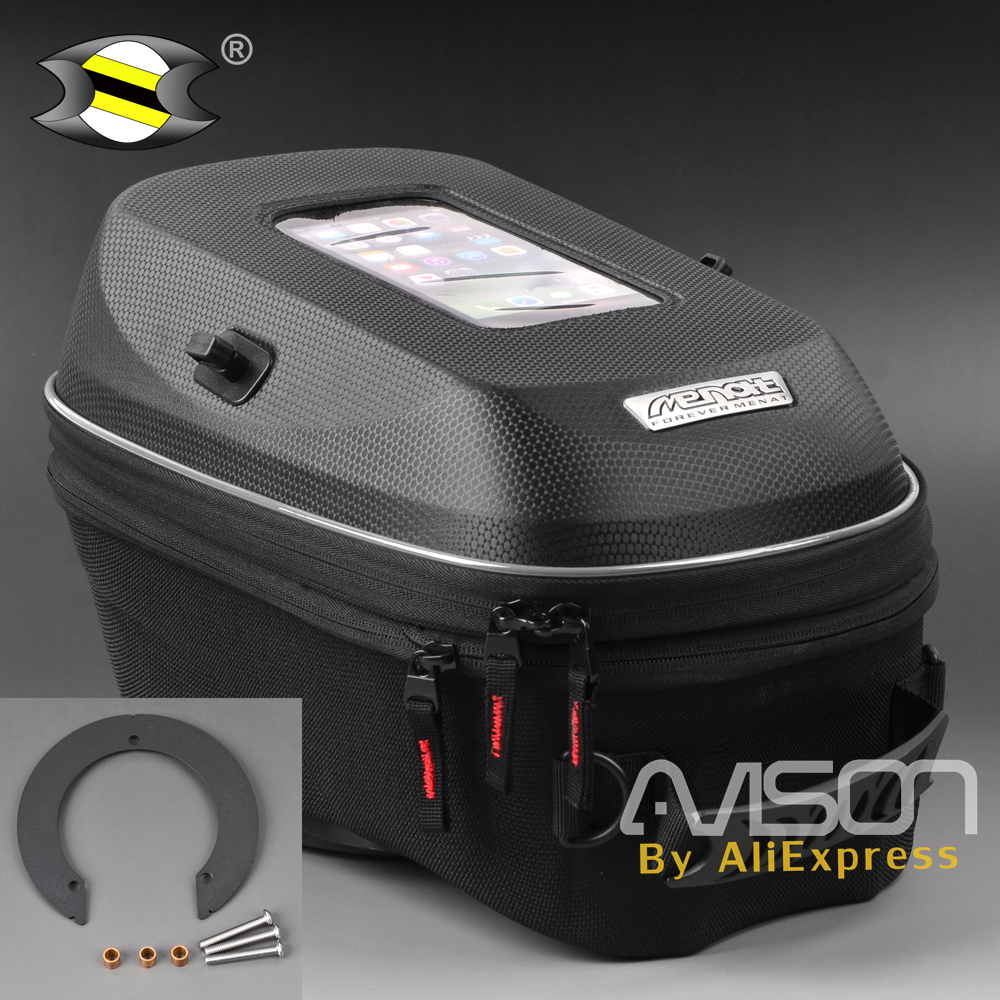 Fit For Cagiva Mito 125 / MV Agusta Brutale 750 - 910 - 1078 after 2009 year Multi-purpose Hard Shell Fuel Tank Ring Tank Bag